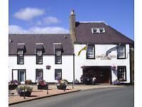 Chef required to join an expanding team in a busy 24 bedroomed hotel in Freuchie, Central Fife