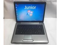 Toshiba Quick Laptop, 160GB, 2GB Ram, Windows 7, Microsoft office, Good Condition, Ready to use