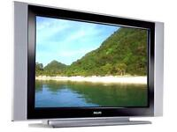 """Philips 42"""" flat TV with remote"""