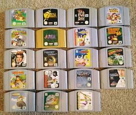Nintendo 64 games - N64