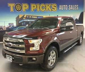 2016 Ford F-150 FX4, SUNROOF, NAVIAGTION, 20 WHEELS, ONE OWNER!