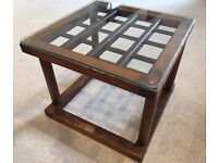 Indonesian Style Side Table for Sale