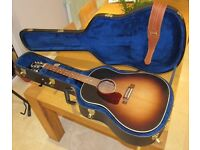 Gibson J-45 Acoustic Guitar, Left-Handed
