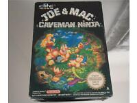 Joe and mac nes Nintendo game
