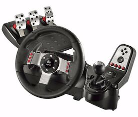 Excellent Condition Logitech G27 Racing Wheel With Race Pedals & Gear Shift The Best