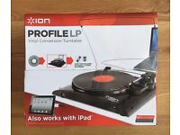 ION Profile Express, Vinyl To MP3 Turntable Download your classic tracks