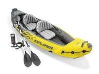 Intex K2 Explorer Inflatable Kayak - BRAND NEW IN BOX