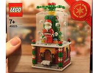 LEGO 40223, Snowglobe, brand new, sealed set.