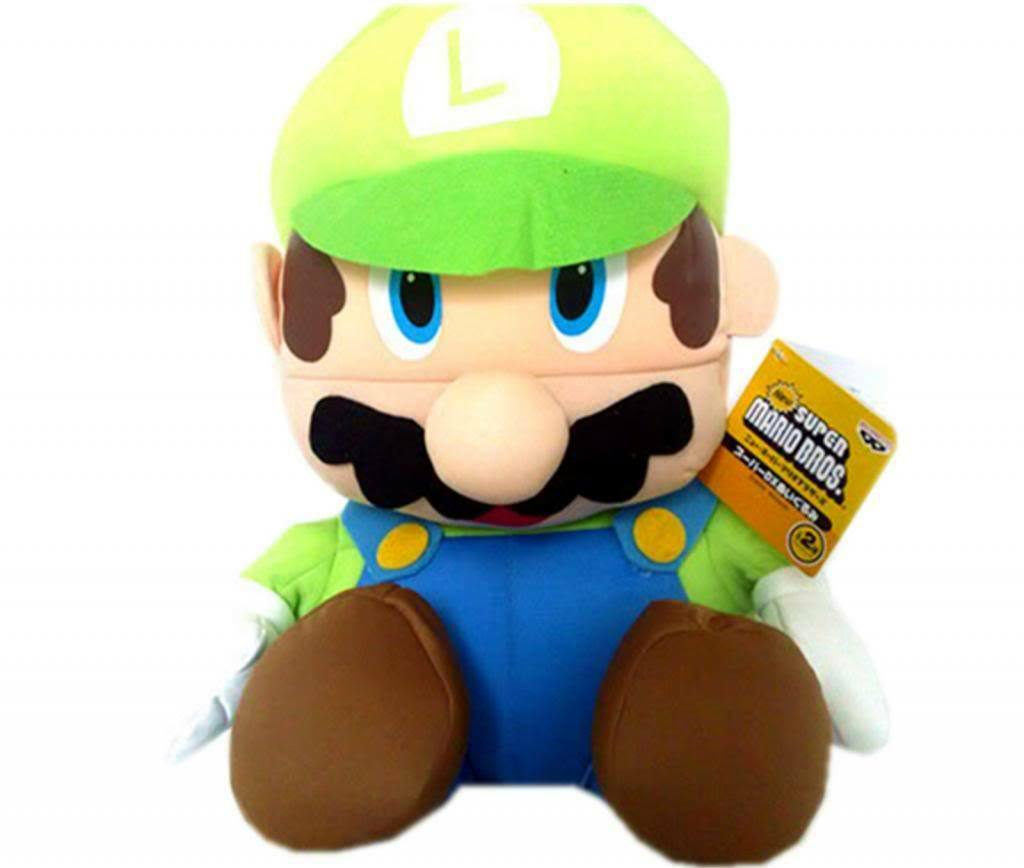 Super Cool Gaming Japanese Nintendo Mario Brothers Character Soft Bean Toy