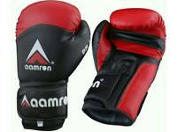 Aamron cowhide Leather boxing gloves