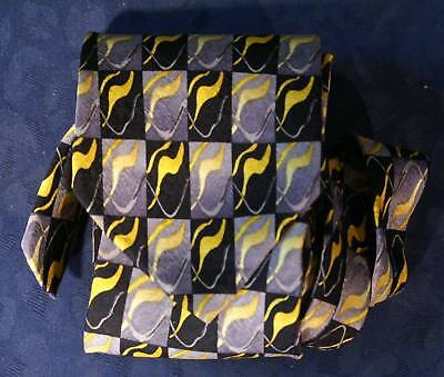 Used, J. GARCIA STONEHENGE Abstract Modern Art Tie for sale  Shipping to India
