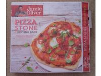 Jamie Oliver Pizza Stone and Serving Rack - Good Condition