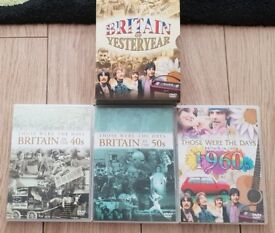 DVD Britain of Yesteryear + Planet earth + The Blue Planet + 18 Music CDs