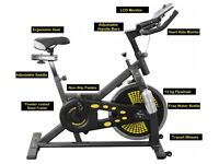 Spinning Bike Exercise Spin Bike Full Warranty: Ex Display Bike