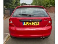 Honda Civic 2003 1.4 petrol manual