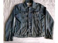 TopMan Classic denim jacket. Size M (I'm 173cm/5.6ft).