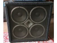 Hartke VX 410 Bass Amplifier Cabinet 400 watts @ 8 ohms