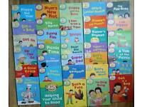 Childrens Biff Chip & Kipper Learn to Read Books Collection Immaculate Condition