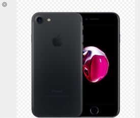 Brand new iPhone 7 plus black Vodafone 128GB