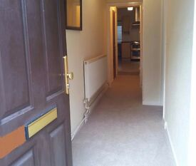 Spacious furnished ground floor flat - freshly decorated and new carpets! Ready to move in!