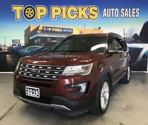 2016 Ford Explorer 20 Wheels, Leather, Navigation, Clean Carproo
