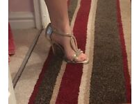 Gold heels from next size 4