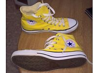 Woman's converse Chuck Taylor All Star high tops UK 6.5