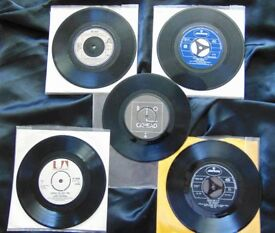 "5 x 7"" Vinyl singles from the 70's RARE ! Lot 2 0f 4"