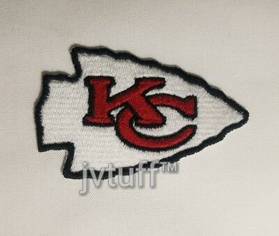 NFL KC Kansas City Chiefs Iron / Sew On Embroidered Patch Logo BUY 3 GET 1 FREE