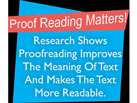 Experienced Proofreader & Copy-editor - Proofreading dissertations, assignments, Essays , Documents
