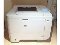 HP LaserJet Enterprise P3015dn Laser Mono Printer - Duplex & Networked - Leads & Toner