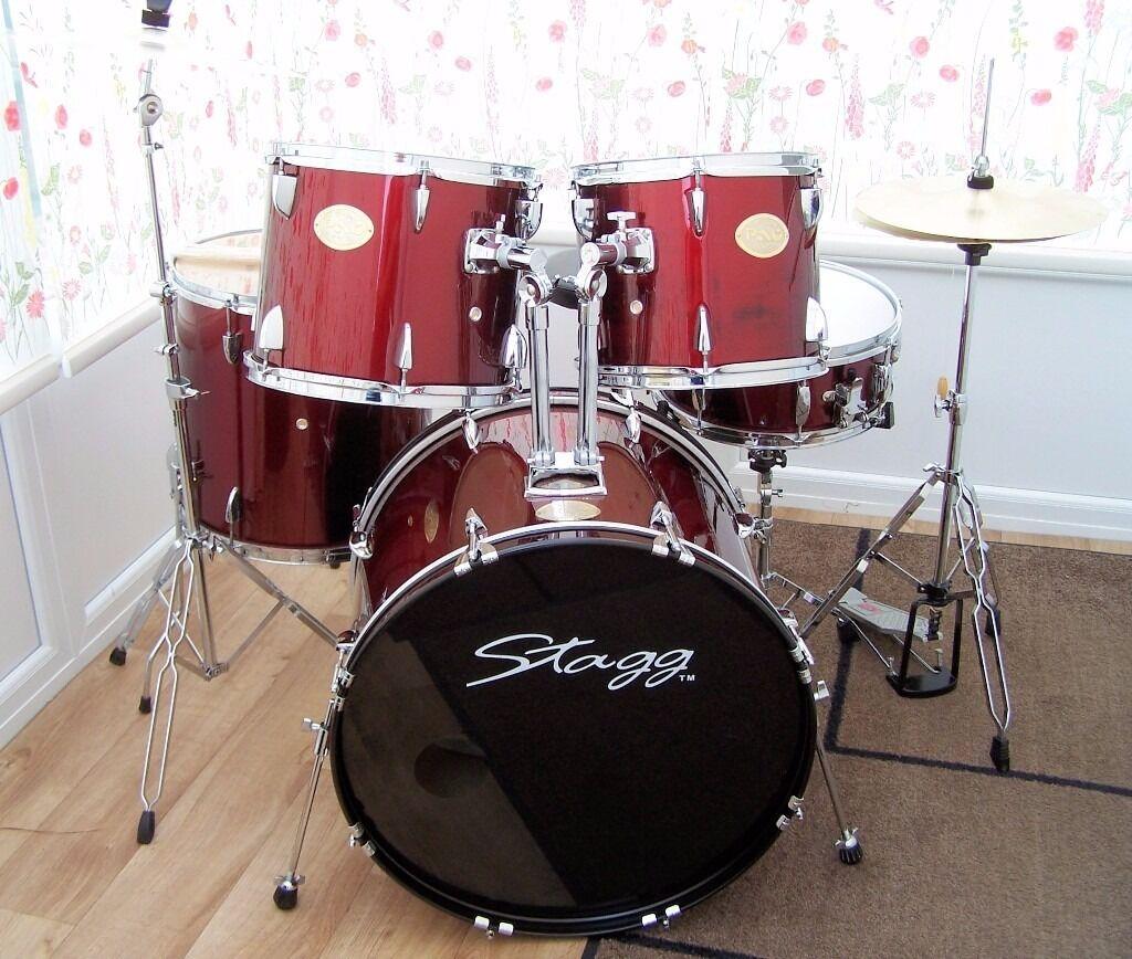 Hi Hat Cymbals Gumtree Brisbane : stagg pao drum kit complete with stands cymbals in saltford bristol gumtree ~ Russianpoet.info Haus und Dekorationen