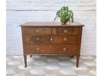 Vintage Chest of Bedroom Drawers #476