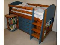 Childs bed and furniture set
