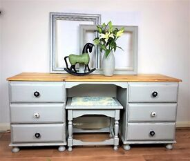 Double DressingTable and Stool