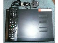 Humax Foxsat HD/GB Freesat HD Receiver with Remote - used