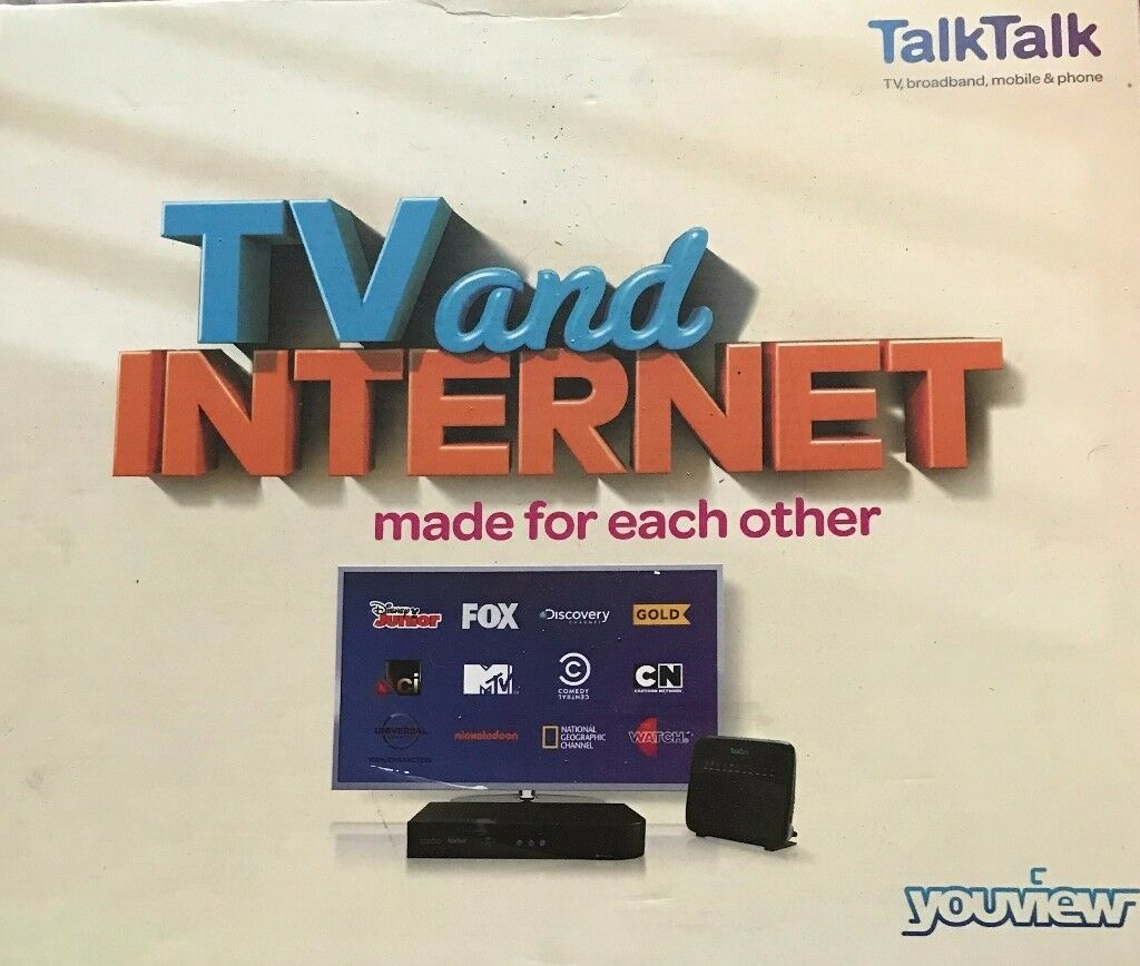 Talktalk Youview Plus Set Top Box Huawei Dn360t Freeview Hd