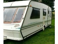 Abbey Vogue 1997. Good condition for age. Awning and extras. stored near Blackwood