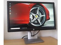 "HP EliteDisplay E232 23"" LED IPS Monitor,Full HD,7ms,HDMI, ideal for gaming,cctv,desktop,pc,computer"