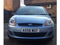 FORD FIESTA 1.6 STYLE CLIMATE 5DR 56 REG AUTO + FULL SERVICE HISTORY + 3 MONTHS WARRANTY