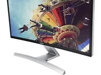 """Samsung S27D590C Black 27"""" Curved LED Monitor / Dual Stereo Speakers / Game Mode function"""