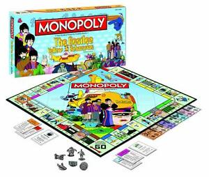 Monopoly Beatles Yellow Submarine Board Game at JJ Sports