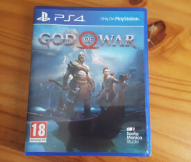 God of War PS4 / Playstation 4 game - Mint condition