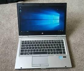 HP Elitebook 8470p. Core i5-3rd gen. 8gb ram. 500gb hdd