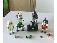 Collection of Playmobil spacemen