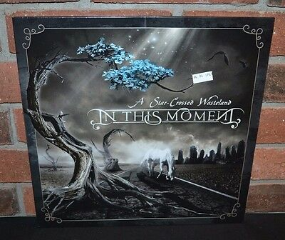 IN THIS MOMENT - A Star Crossed Wasteland Ltd/700 CLEAR/BLACK SPLATTER VINYL