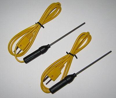 K-type Thermocouple Probe F. Digital Thermometer Hvac Industrial Sensor Tc2-2pc