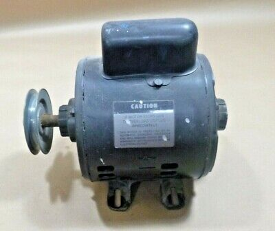 Campbell Hausfeld Portable Compressor Motor 12 Hp. Single Phase W 3.5 Pulley