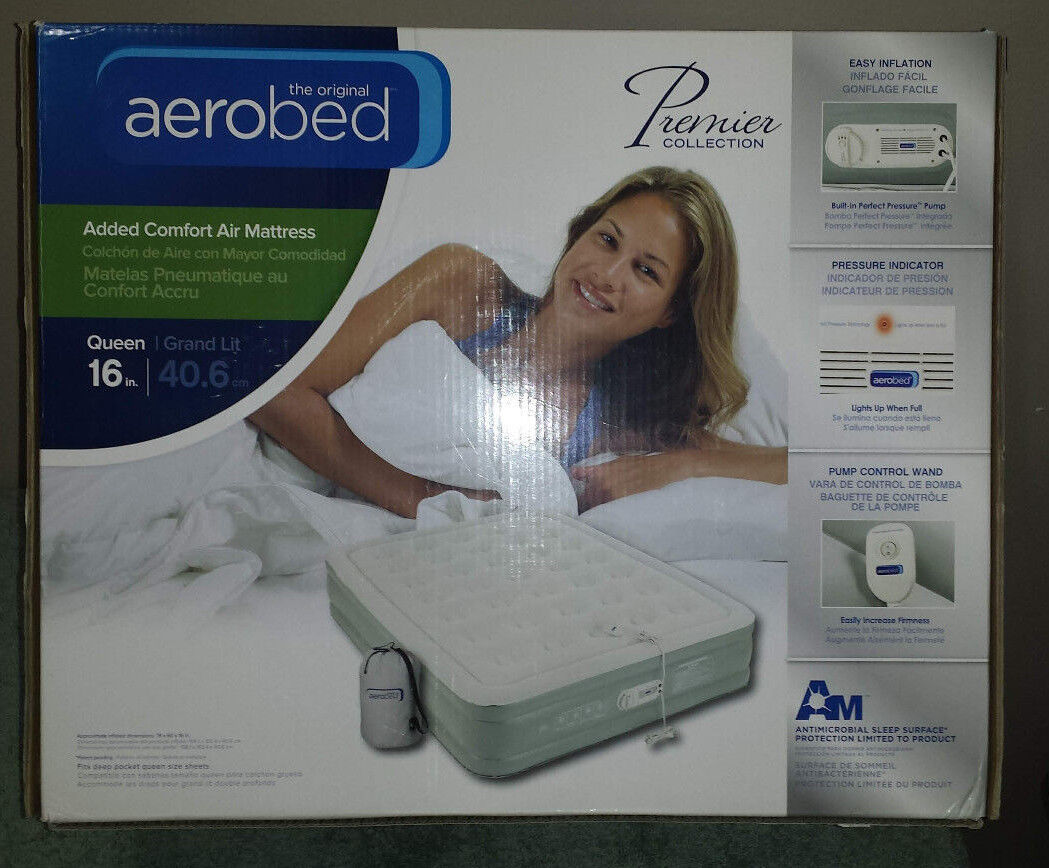 AeroBed® Premier Collection Queen Air Mattress