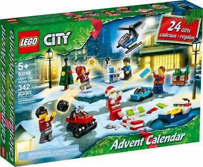Lego City Advent Calendar (60268) CHRISTMAS Gift for Boys and Girls